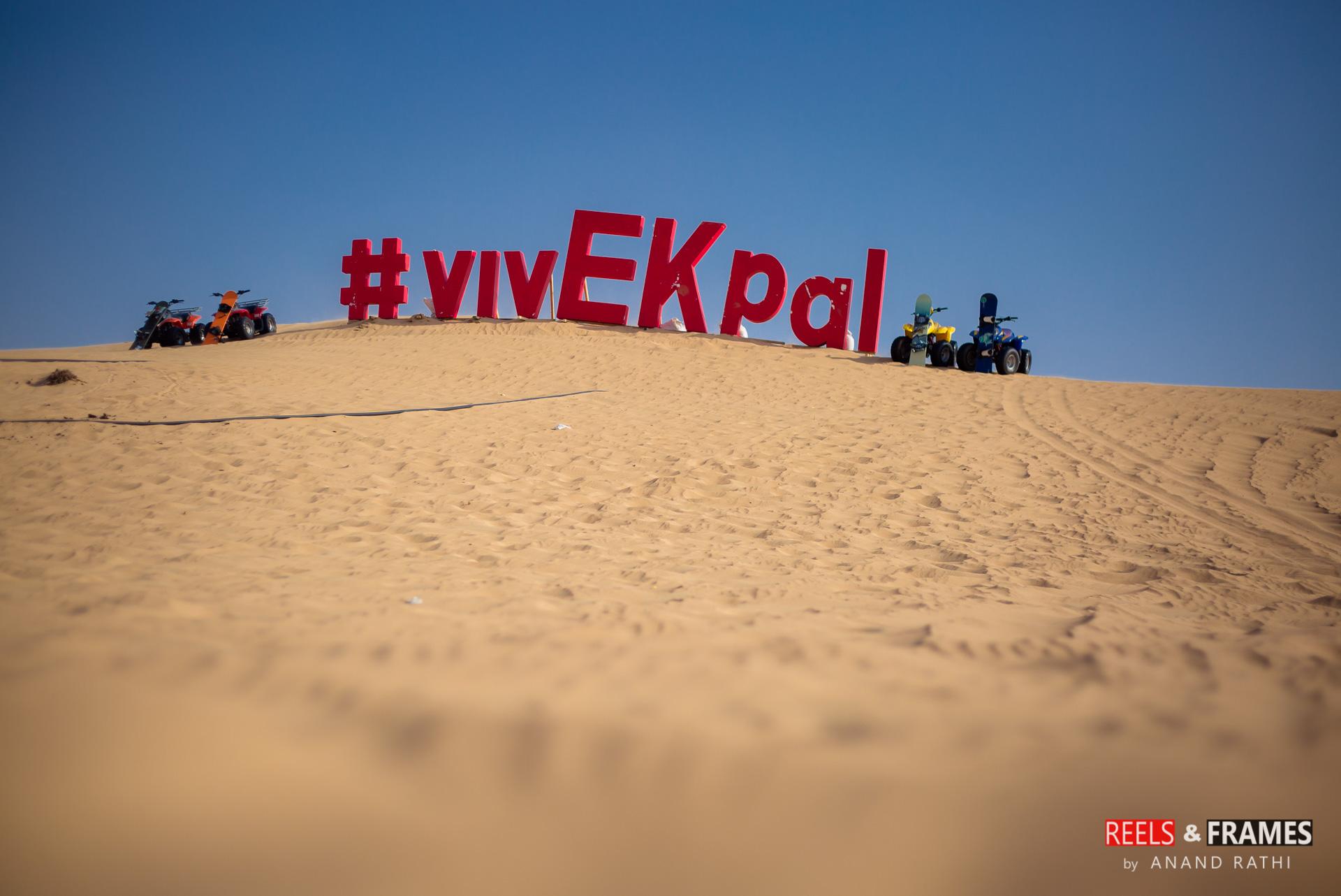 #vivEKpal #reelsandframes #desert #atifaslam #musicalnight #wedtease #weddings