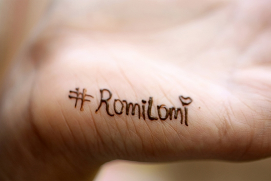 #RomiLomi #rambherwaniweddings #wedtease #weddings #mehendi #coupelgoals
